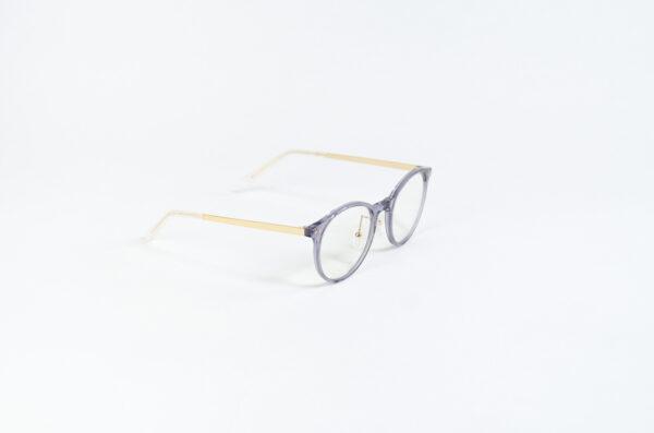 Blaulichtfilter Brille Grau Perlmutt Seitlich