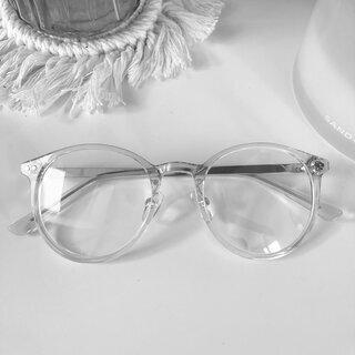 Blaulichtfilter Brille grau gold